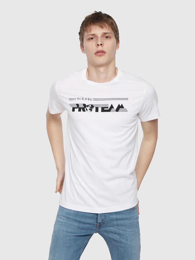 Diesel - T-DIEGO-YB, Blanc - T-Shirts - Image 1