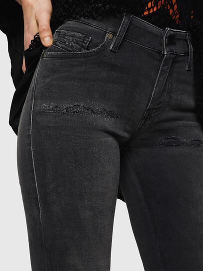 Diesel - Slandy 069GI, Noir/Gris foncé - Jeans - Image 3