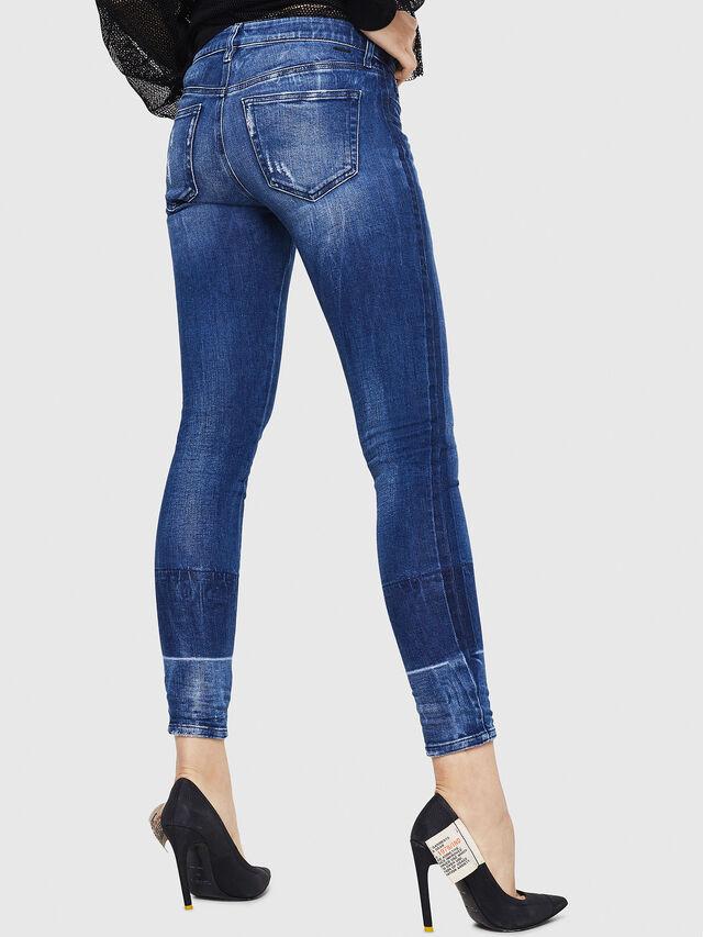 Diesel - Slandy 0090K, Bleu moyen - Jeans - Image 2