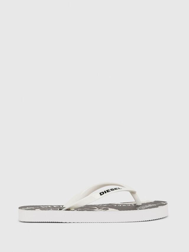 Diesel - FF 22 FLIPPER YO, Blanc/Noir - Footwear - Image 1