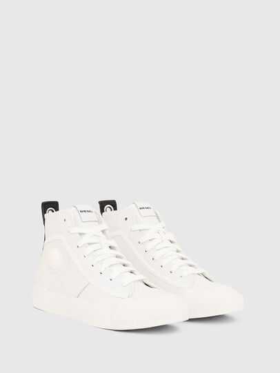 Diesel - S-ASTICO MID LACE W, Blanc - Baskets - Image 2