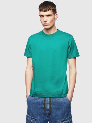 T-DIAMANTIK-NEW, Vert - T-Shirts