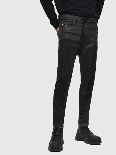 Diesel - D-Vider JoggJeans 0094P, Bleu Foncé - Jeans - Image 1