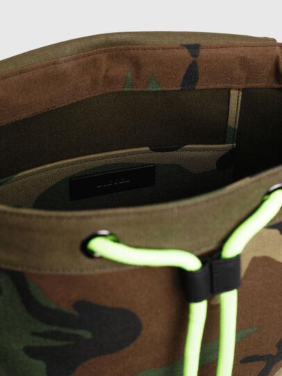 Diesel - VOLPAGO BACK, Vert Camouflage - Sacs à dos - Image 5