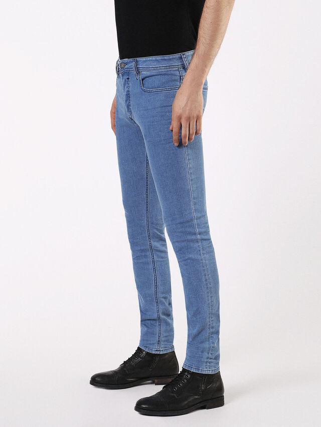 Diesel - SLEENKER 0684B, Light Blue - Jeans - Image 7