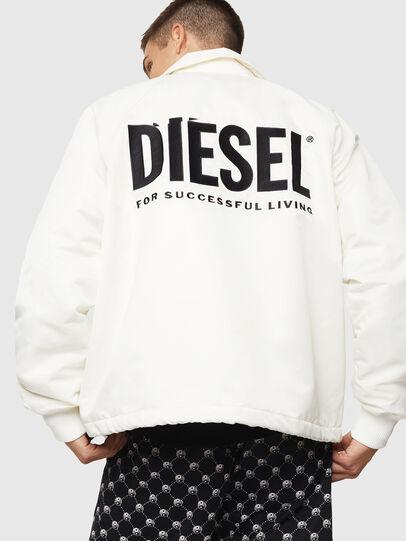 Diesel - J-AKIO-A, Blanc - Vestes - Image 2