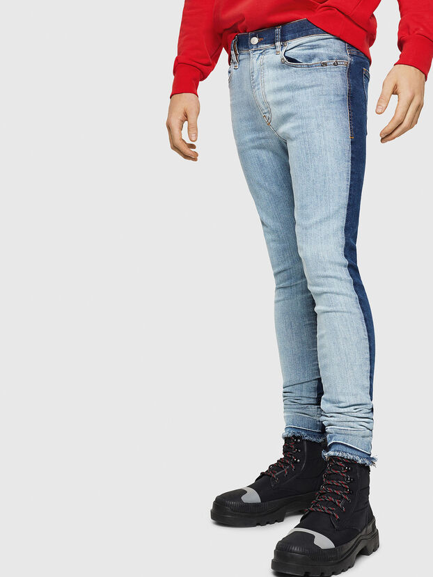 D-Istort 085AU, Bleu moyen - Jeans