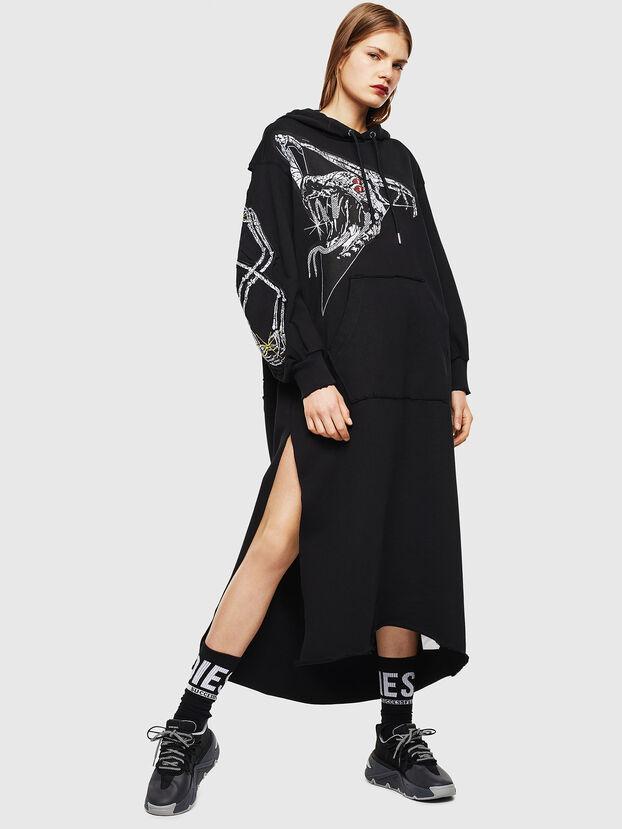 D-ILSE-TWIST-A, Noir - Robes