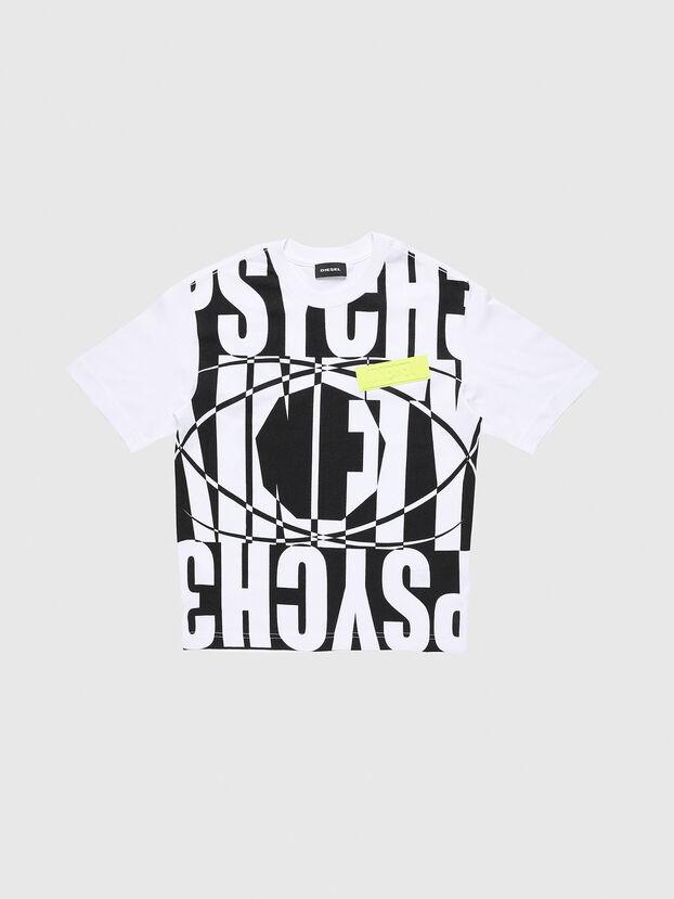 TLUCASSLY1 OVER, Blanc/Noir - T-shirts et Hauts