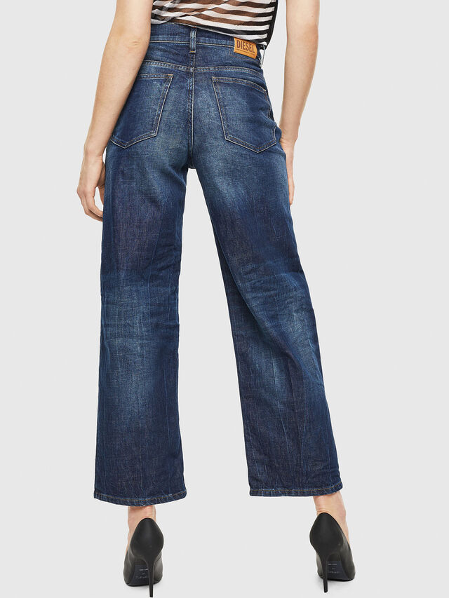 Diesel - Widee 0090W, Bleu Foncé - Jeans - Image 2