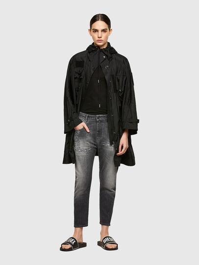 Diesel - Fayza JoggJeans® 009QT, Noir/Gris foncé - Jeans - Image 5
