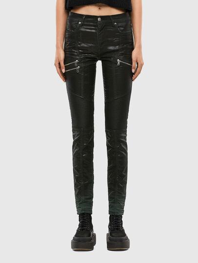 Diesel - D-Ollies JoggJeans® 069QQ, Noir/Gris foncé - Jeans - Image 1