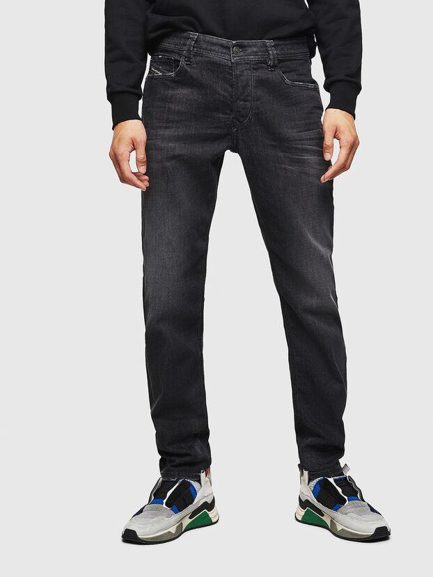 Larkee-Beex 082AS, Noir/Gris foncé - Jeans