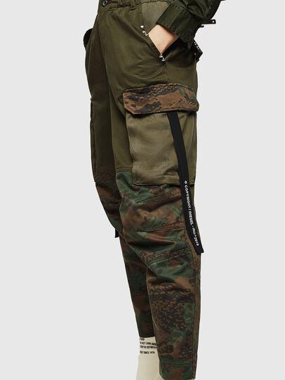 Diesel - P-THENA-A, Vert Camouflage - Pantalons - Image 4