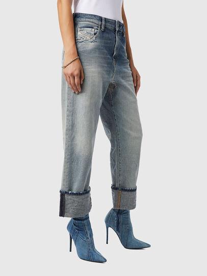 Diesel - D-Reggy 09B11, Bleu Clair - Jeans - Image 6