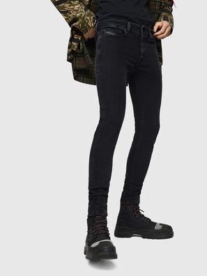 Sleenker 0870G, Noir/Gris foncé - Jeans
