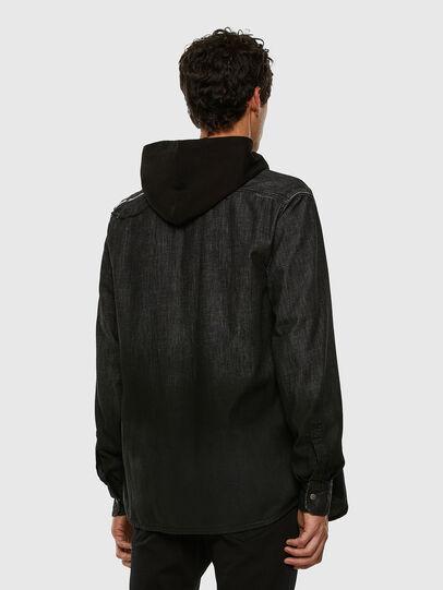 Diesel - D-NESKY, Noir - Chemises en Denim - Image 6