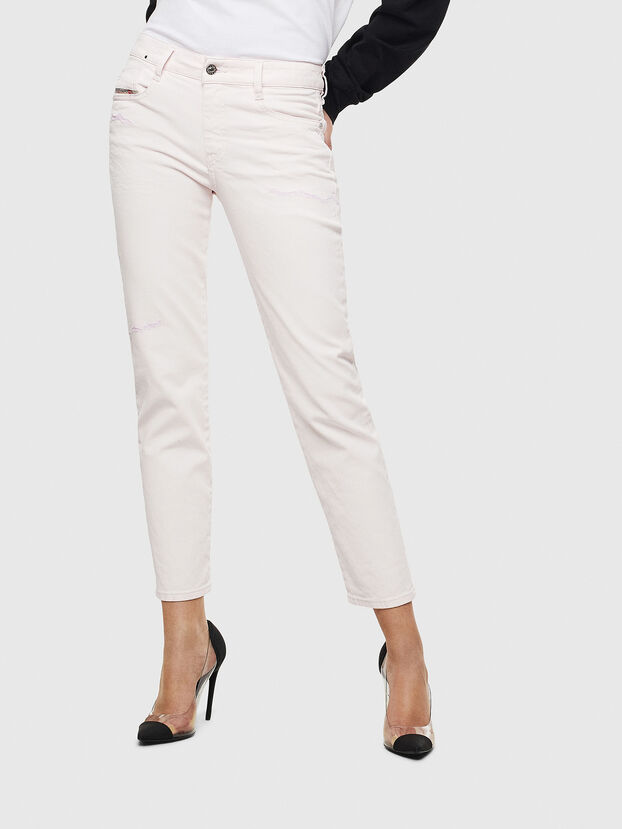 D-Rifty 069MS, Blanc - Jeans