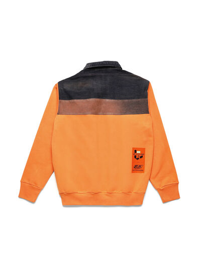 Diesel - D-BNHILL-S, Orange - Pull Cotton - Image 2