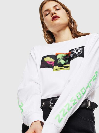 Diesel - T-GLYNIS-J1, Blanc - T-Shirts - Image 6