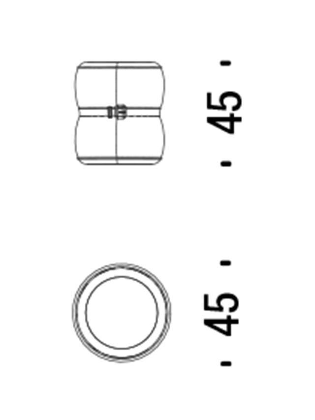Diesel - 00DL0F23 CHUBBY CHIC, Beige - Meubles de Complément - Image 5
