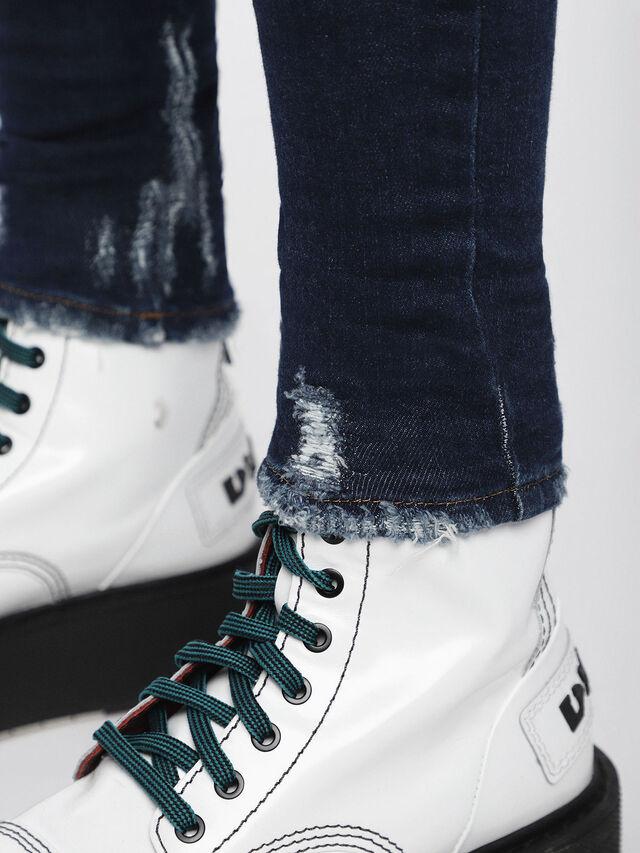 Diesel - Slandy 084ZA, Bleu Foncé - Jeans - Image 4