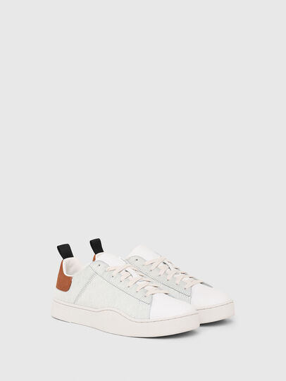 Diesel - S-CLEVER LOW LACE, Blanc/Brun - Baskets - Image 2