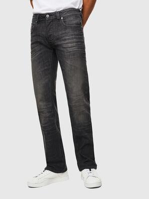 Larkee C82AT, Noir/Gris foncé - Jeans