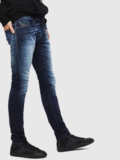 Diesel - Thommer JoggJeans 069IE, Bleu Foncé - Jeans - Image 5
