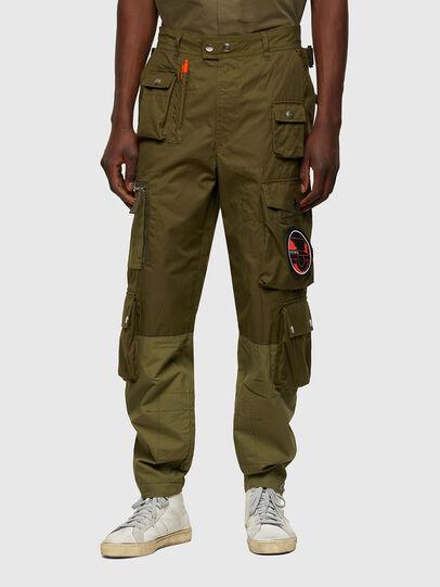 Diesel - P-CYAN, Vert Militaire - Pantalons - Image 1