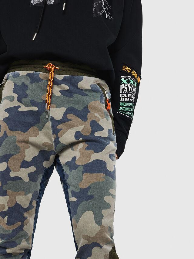 Diesel - D-Eeley JoggJeans 0GAUU, Vert Camouflage - Jeans - Image 3