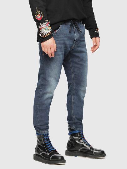 Diesel - Krooley JoggJeans 084UB, Bleu moyen - Jeans - Image 1