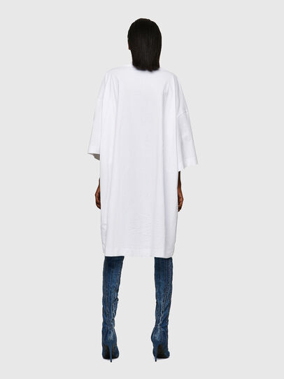 Diesel - D-EXTRA-ECOLOGO, Blanc - Robes - Image 2