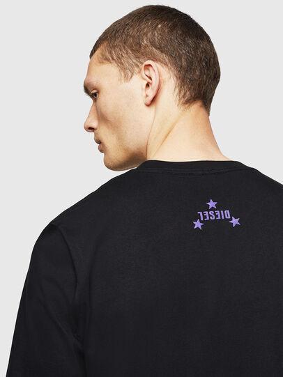 Diesel - T-JUST-A12, Noir - T-Shirts - Image 4