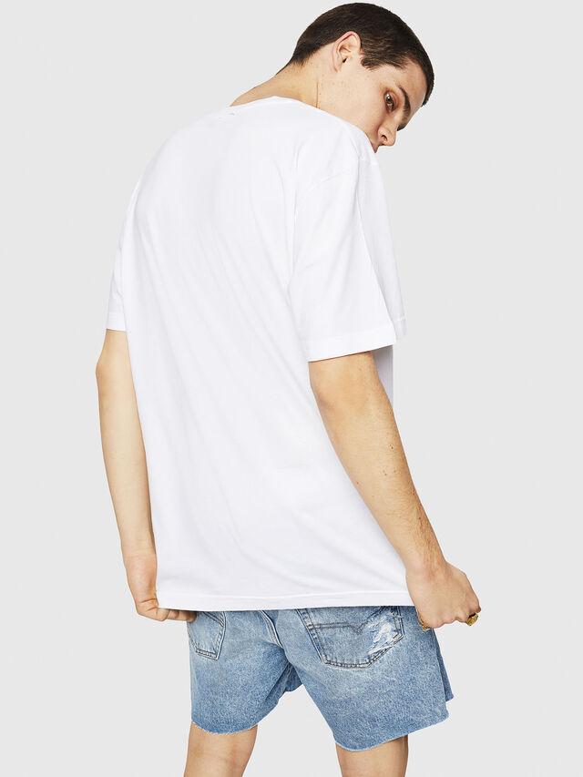 Diesel - T-JUST-Y21, Blanc - T-Shirts - Image 2