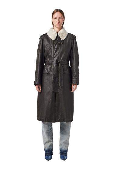 Manteau en toile avec doublure amovible