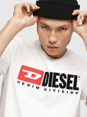 T-JUST-DIVISION, Blanc - T-Shirts