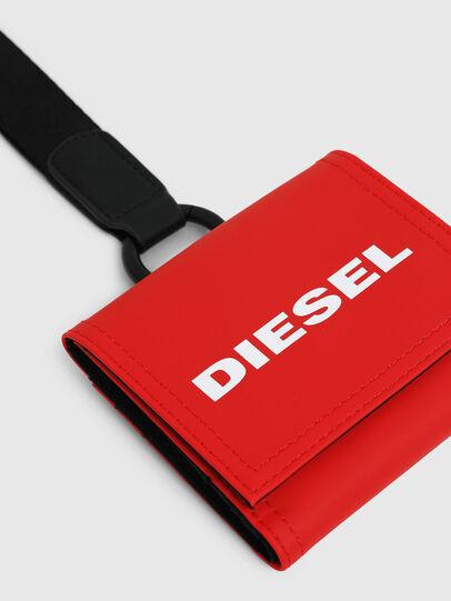 Diesel - YOSHINO LOOP, Rouge Flamme - Petits Portefeuilles - Image 4