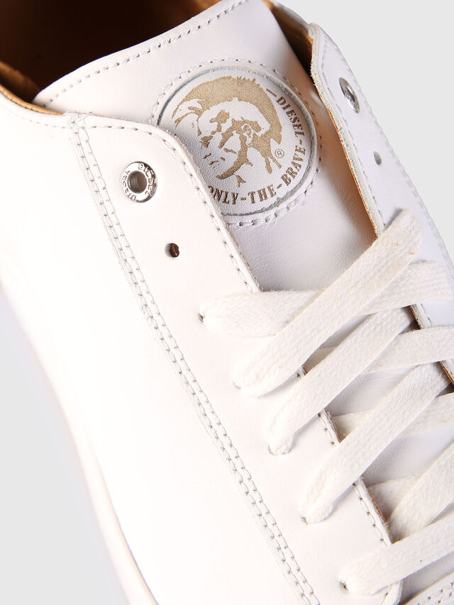 Diesel - S-NENTISH LOW, Blanc - Baskets - Image 6