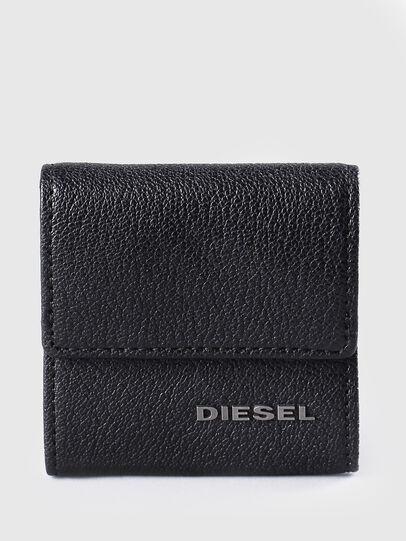 Diesel - KOPPER, Cuir Noir - Petits Portefeuilles - Image 1