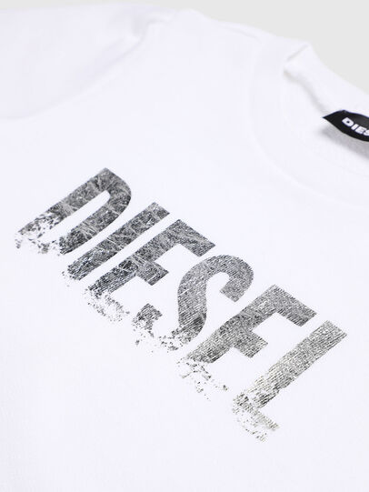 Diesel - SRALLYB-R, Blanc - Pull Cotton - Image 3