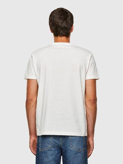 Diesel - T-DIEGOS-N23, Blanc - T-Shirts - Image 2