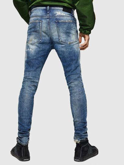 Diesel - D-Reeft JoggJeans 0870Q, Bleu moyen - Jeans - Image 2