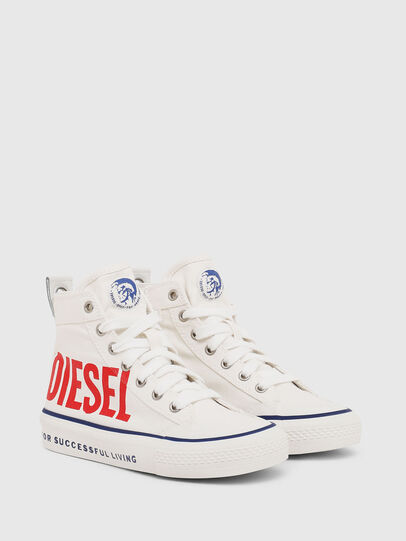 Diesel - SN MID 07 MC YO, Blanc - Footwear - Image 2