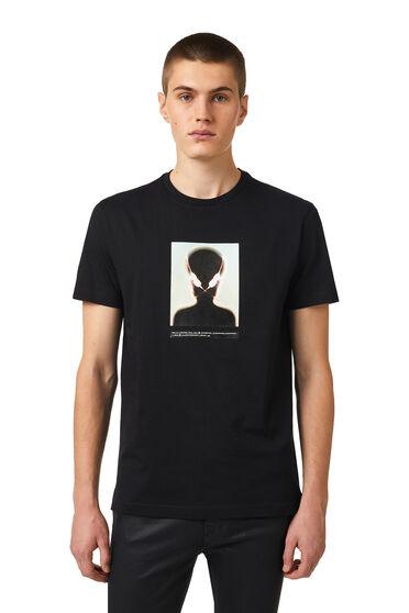 T-shirt avec imprimé extraterrestre