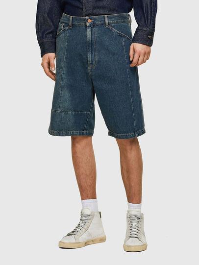 Diesel - D-FRANS-SP, Bleu moyen - Shorts - Image 1