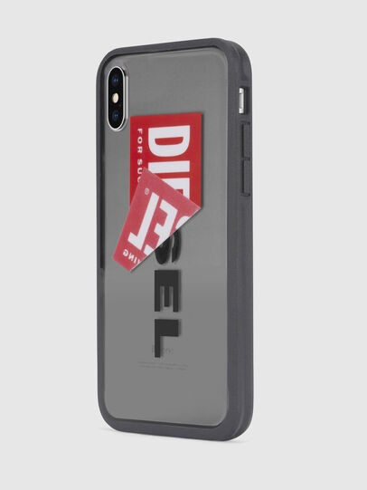 Diesel - STICKER IPHONE X CASE, Noir - Coques - Image 3