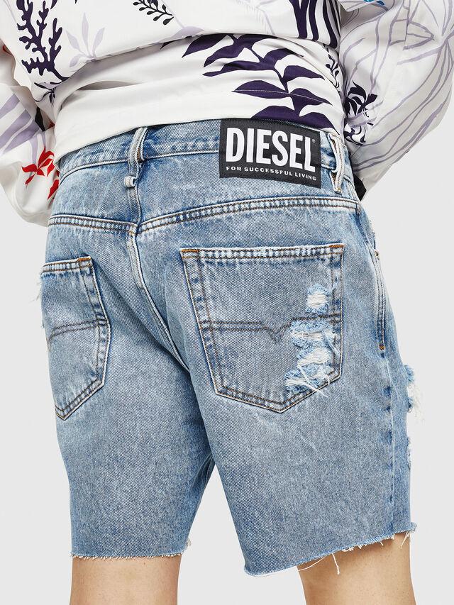 Diesel - D-KIRM, Jean Bleu - Shorts - Image 2