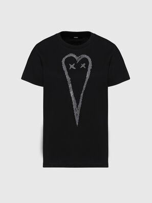 T-SILY-E53, Noir - T-Shirts