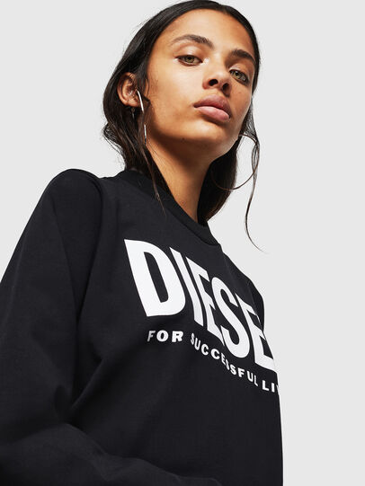 Diesel - F-ANG, Noir - Pull Cotton - Image 3